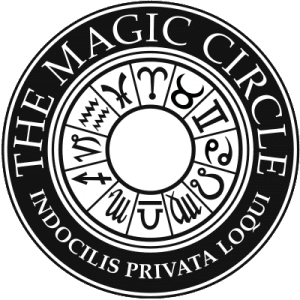 The-Magic-Circle-Logo used by many a Professional Magician