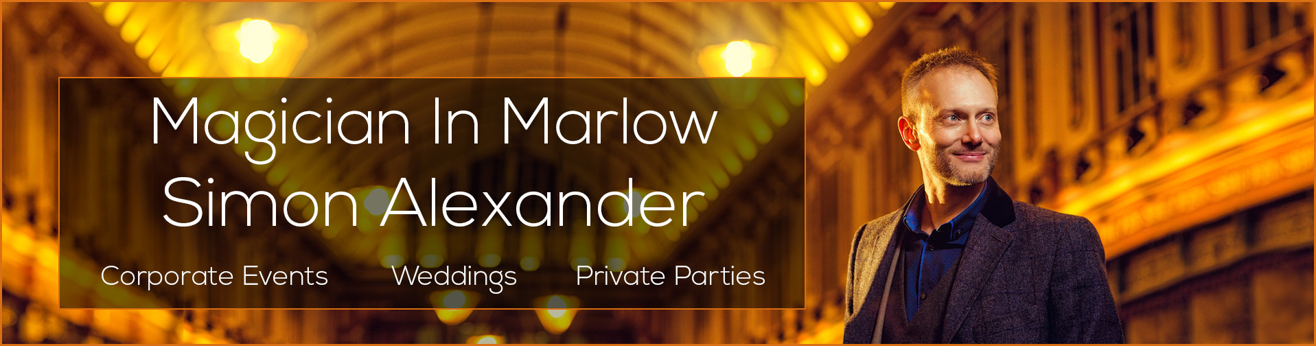 Magician In Marlow Banner