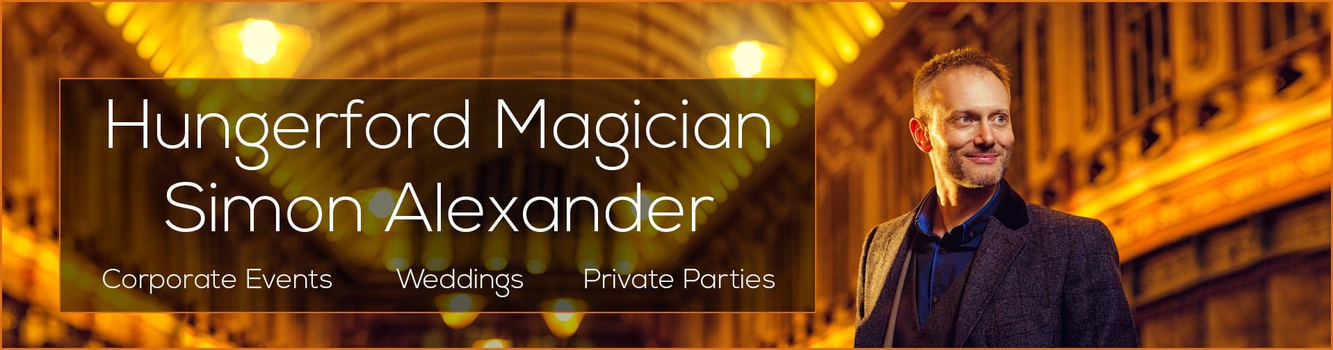 Magician in Hungerford Banner
