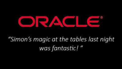 Oracle-Corporate-Magician-Testimonial